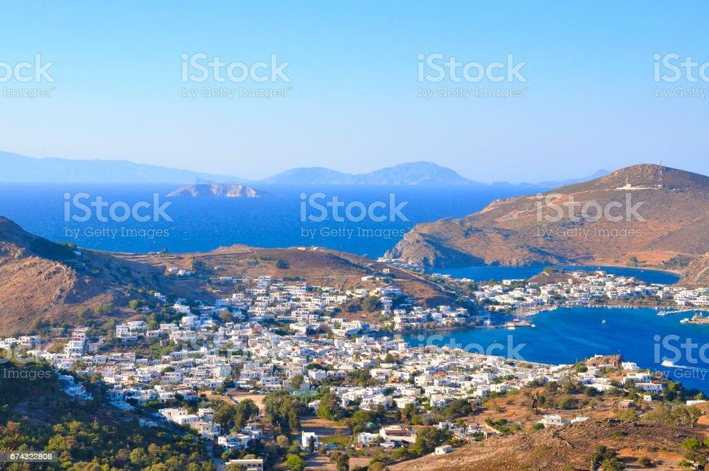 Patmos stock photo