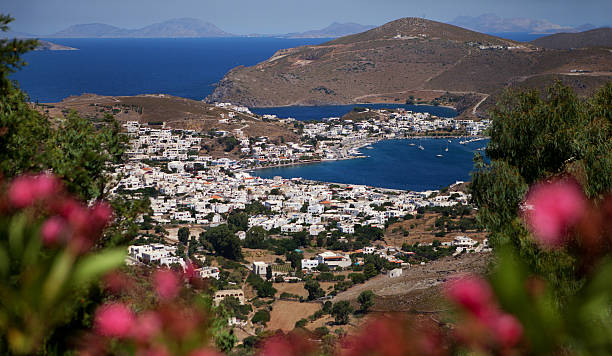 Patmos,the town of Skala - Greece