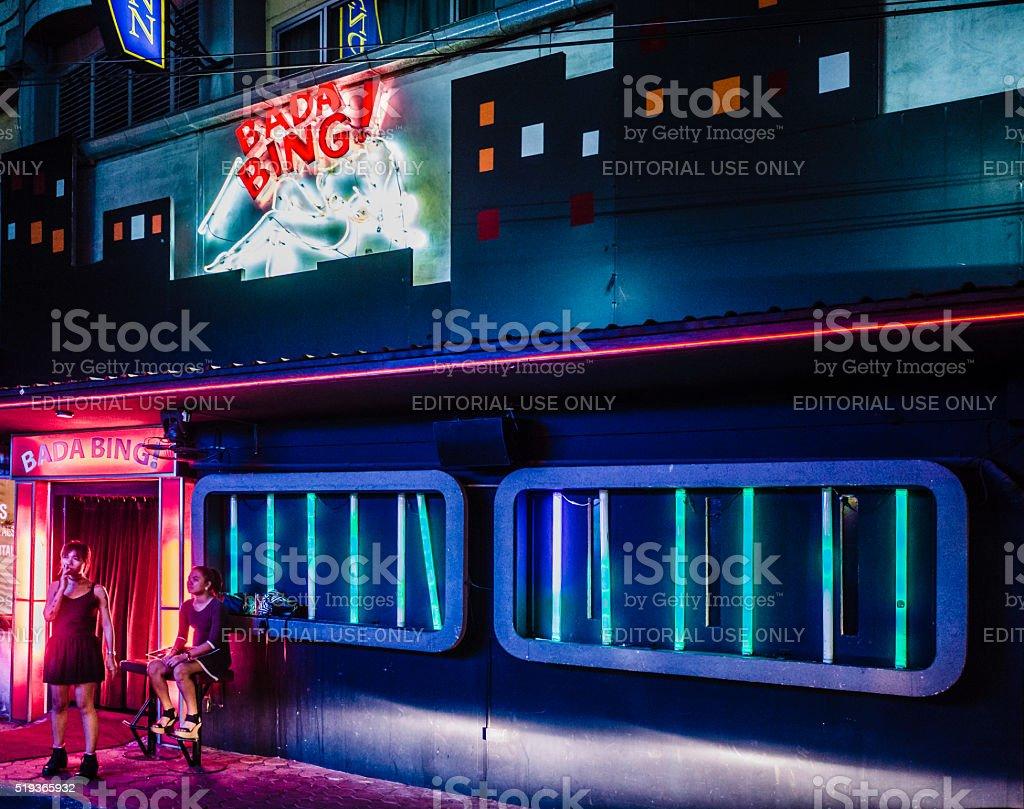 Patpong red light district Bangkok Thailand stock photo