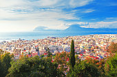 istock Patras city, Greece, view from above. 683126198