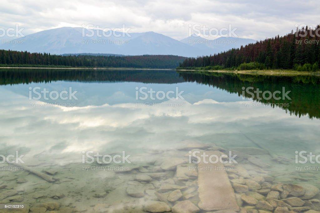 Patricia Lake stock photo