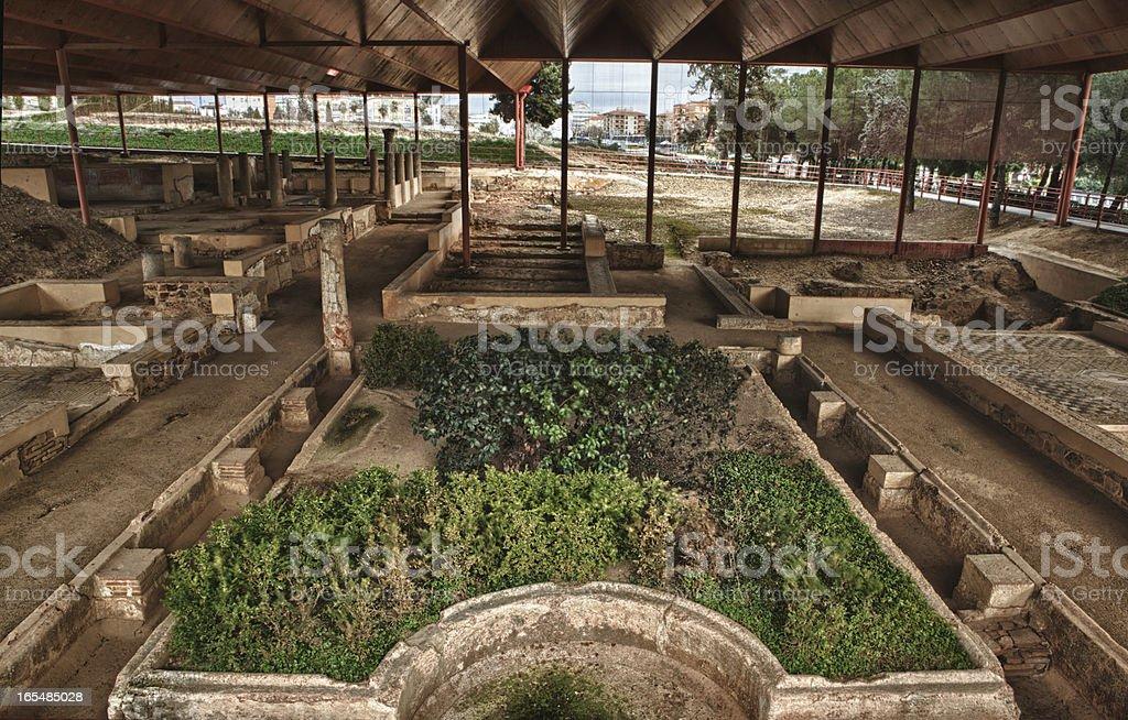 Patrician house gardens royalty-free stock photo