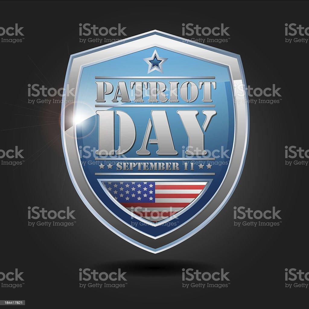 Patriot day - september 11 stock photo