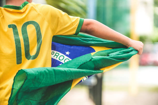 patriot - brazil stock pictures, royalty-free photos & images