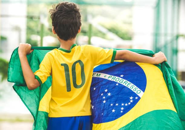 patriot - brasilien stock-fotos und bilder