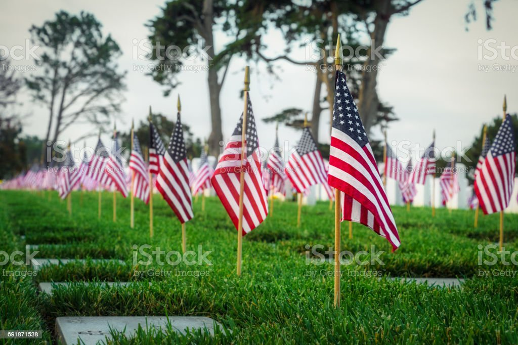 Patriotic 10 stock photo