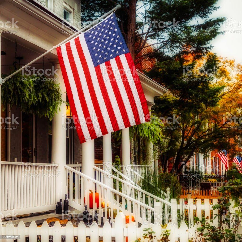 Patriotic 25 stock photo