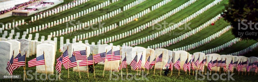 Patriotic 9 (Banner) stock photo