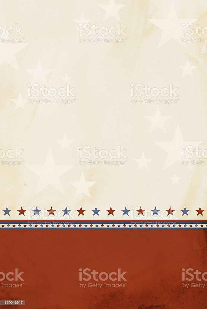 Patriotic Background stock photo