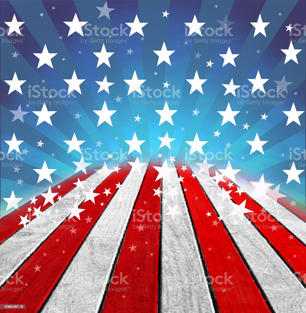 USA patriotic background stock photo