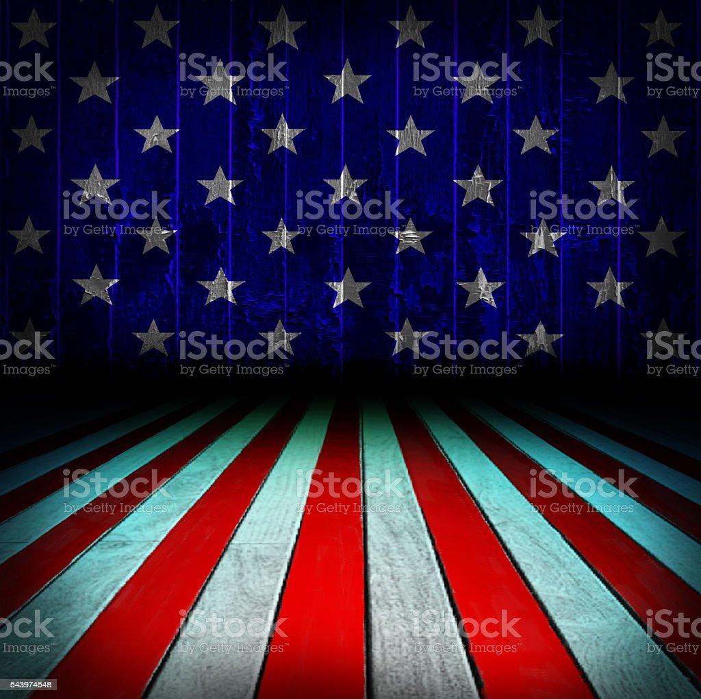 USA patriotic background stock photo