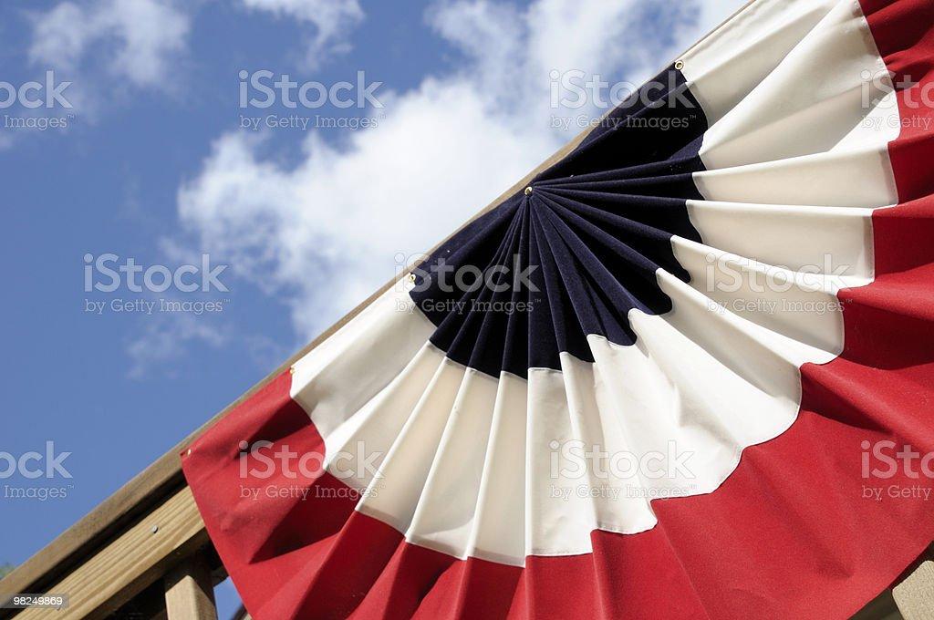Sfondo patriottico foto stock royalty-free