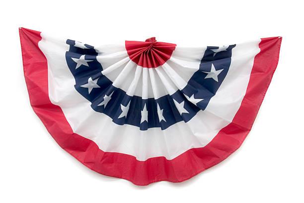 nid d'ange patriotique décoration - demi cercle photos et images de collection
