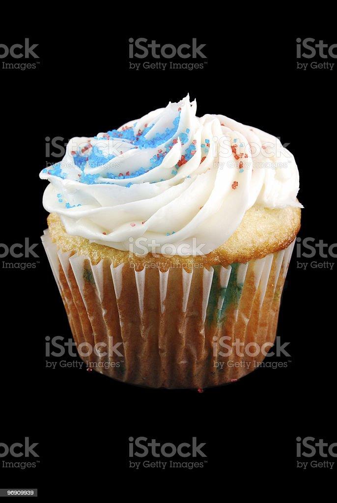 Patriotic Cupcake royalty-free stock photo