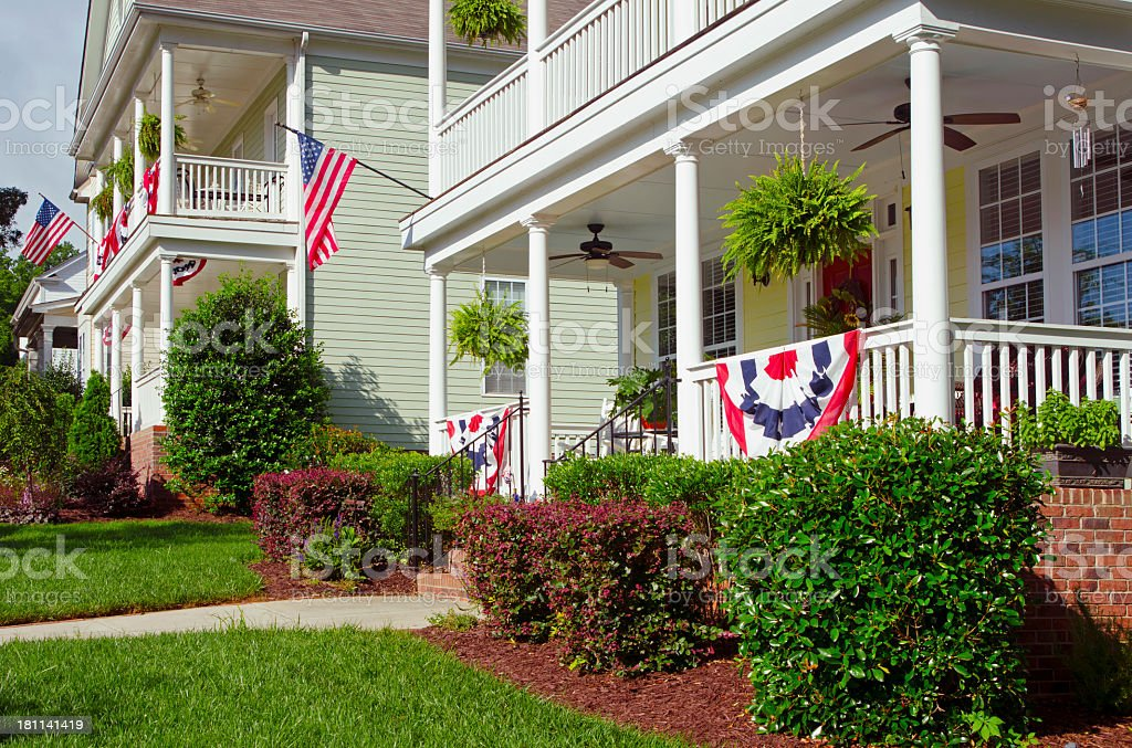 Patriotic Decorations royalty-free stock photo