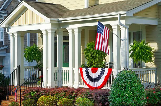 Patriotic Decorations stock photo