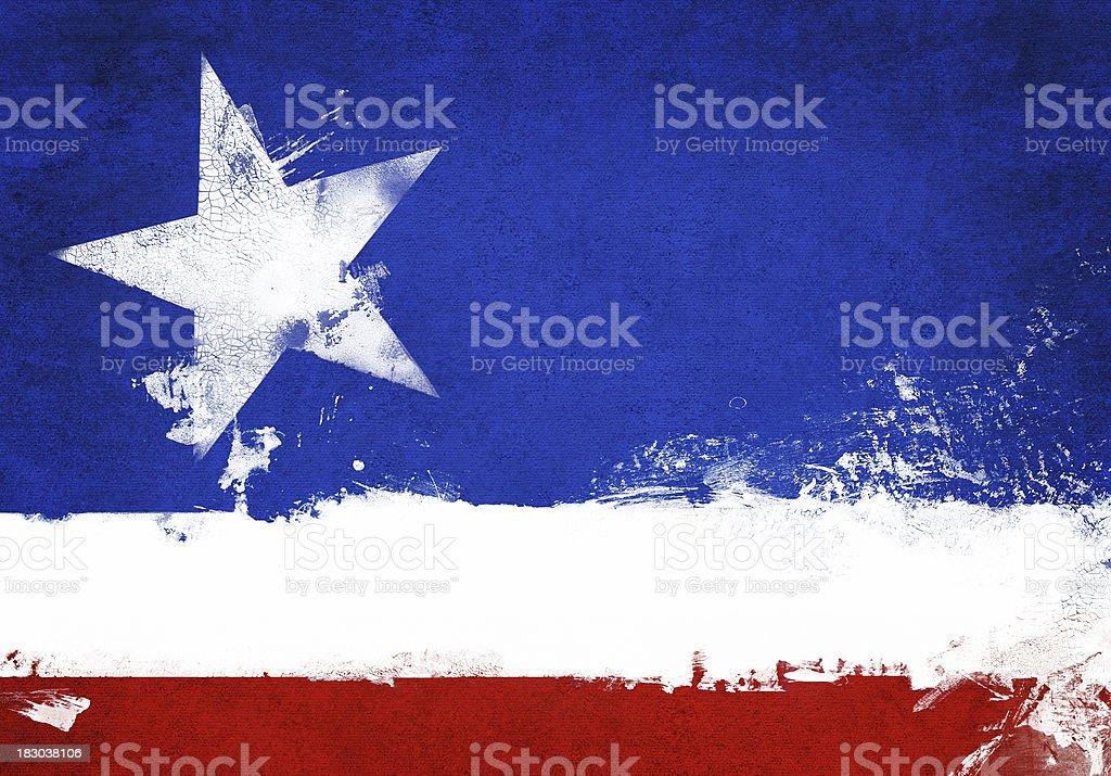Patriotic grunge background  royalty-free stock photo