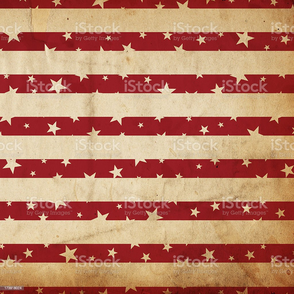 Patriotic Grunge Paper XXXL royalty-free stock photo