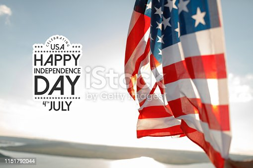 istock Patriotic holiday. 4th of July, Independence day. 1151792044