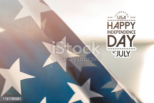 istock Patriotic holiday. 4th of July, Independence day. 1151792051
