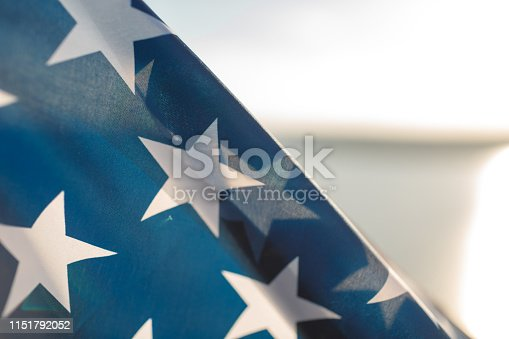 istock Patriotic holiday. 4th of July, Independence day. 1151792052