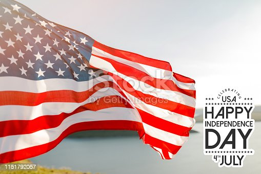 istock Patriotic holiday. 4th of July, Independence day. 1151792057