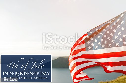 istock Patriotic holiday. 4th of July, Independence day. 1151792060