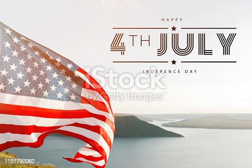 istock Patriotic holiday. 4th of July, Independence day. 1151792062