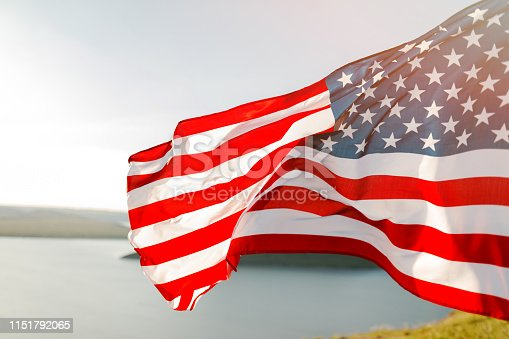 istock Patriotic holiday. 4th of July, Independence day. 1151792065