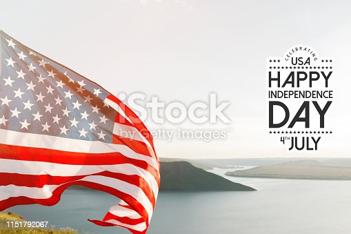 istock Patriotic holiday. 4th of July, Independence day. 1151792067