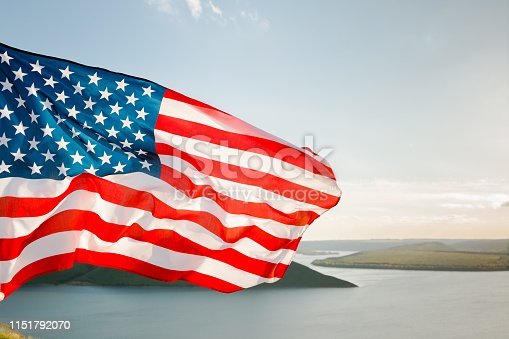 istock Patriotic holiday. 4th of July, Independence day. 1151792070