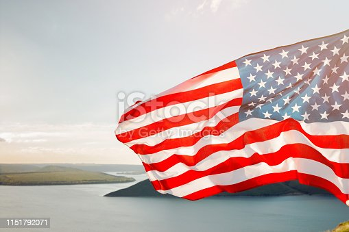 istock Patriotic holiday. 4th of July, Independence day. 1151792071