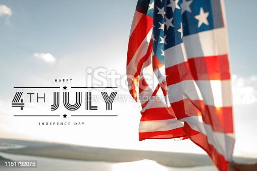 istock Patriotic holiday. 4th of July, Independence day. 1151792075
