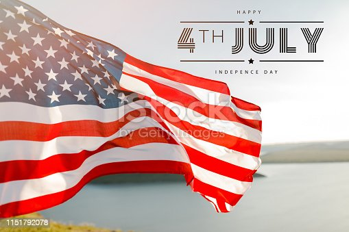 istock Patriotic holiday. 4th of July, Independence day. 1151792078