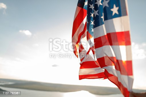 istock Patriotic holiday. 4th of July, Independence day. 1151792081