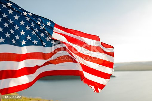 istock Patriotic holiday. 4th of July, Independence day. 1151792082