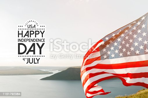 istock Patriotic holiday. 4th of July, Independence day. 1151792084