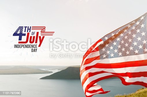 istock Patriotic holiday. 4th of July, Independence day. 1151792090