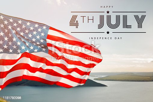 istock Patriotic holiday. 4th of July, Independence day. 1151792098