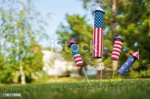 470765518istockphoto Patriotic holiday celebration of independence day 1160178986