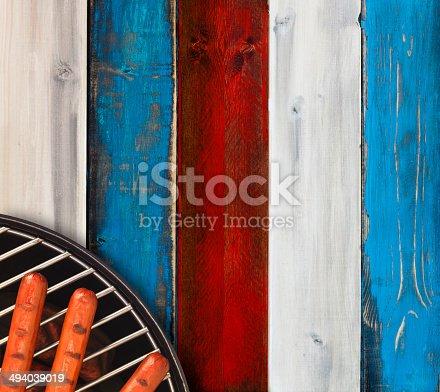 470765518istockphoto Patriotic Hotdog Picnic 494039019