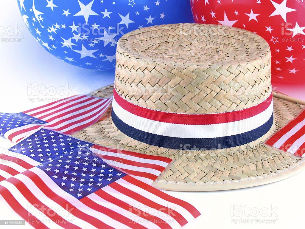 Patriotic Items royalty-free stock photo