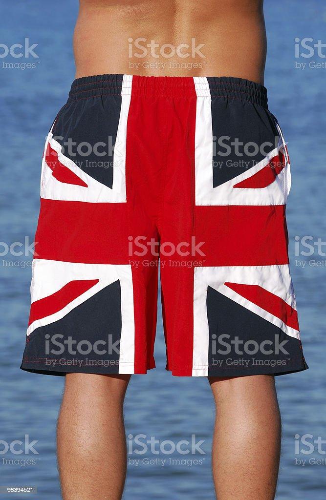 Patriotic Man royalty-free stock photo