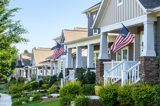 istock Patriotic Neighborhood 541823470