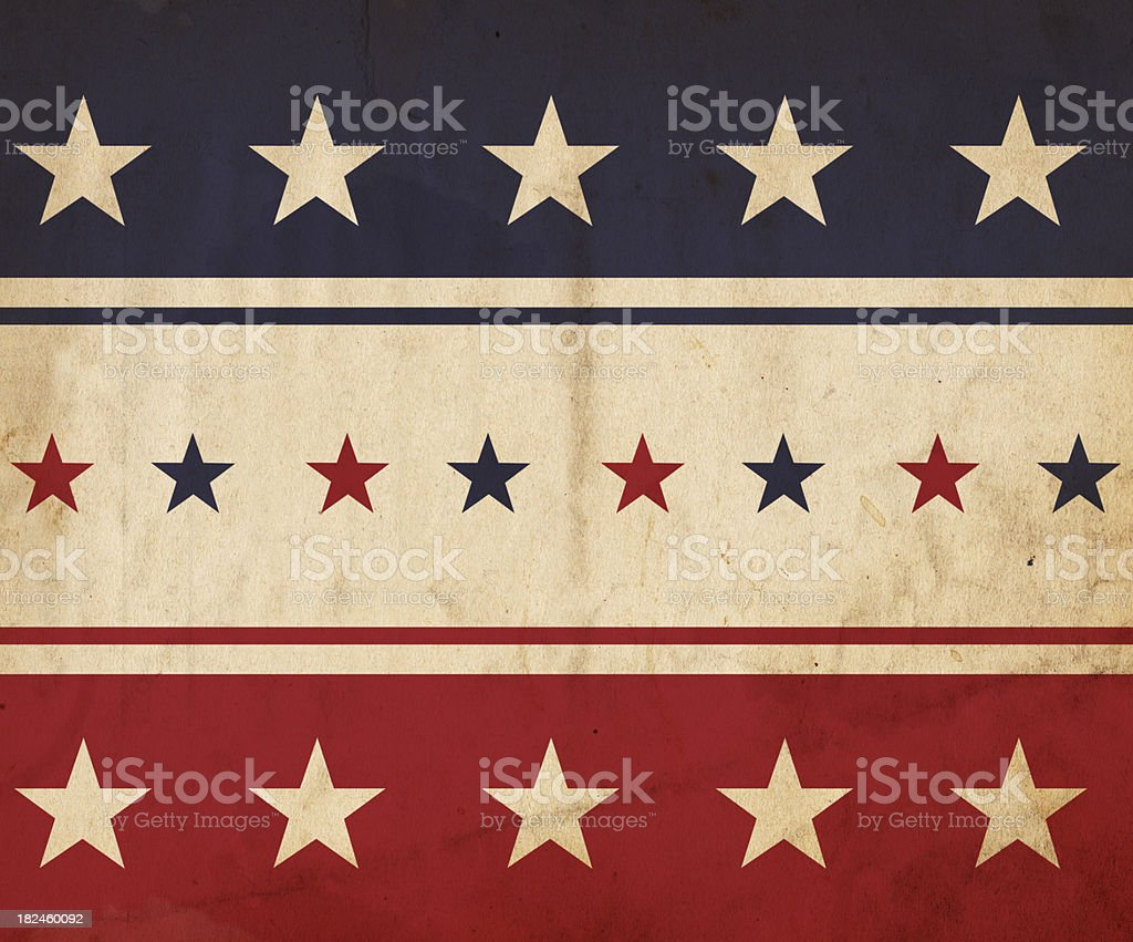 Patriotic Paper Background - XXXL royalty-free stock photo