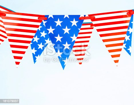 612818918 istock photo Patriotic Party Flags 181079037