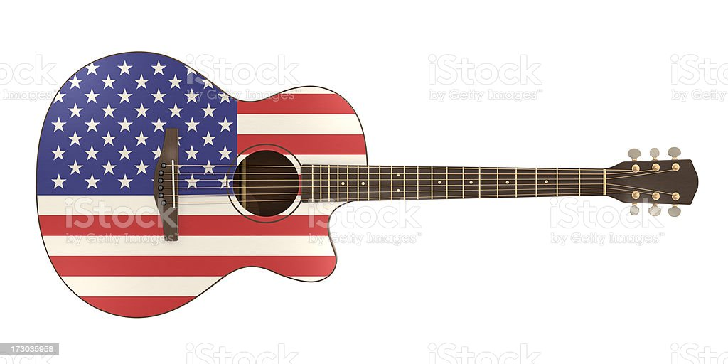 Patriotic Performance stock photo