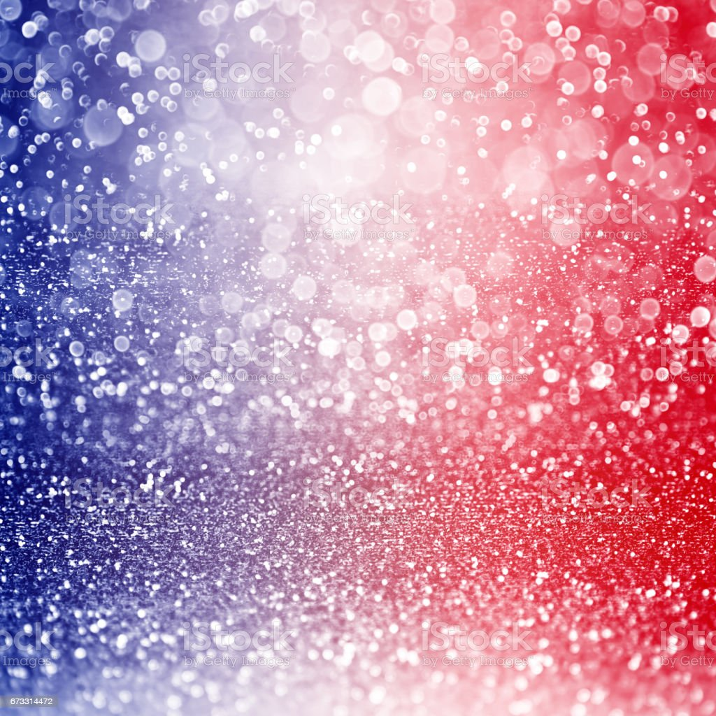 Patriotic Red White and Blue Background stock photo
