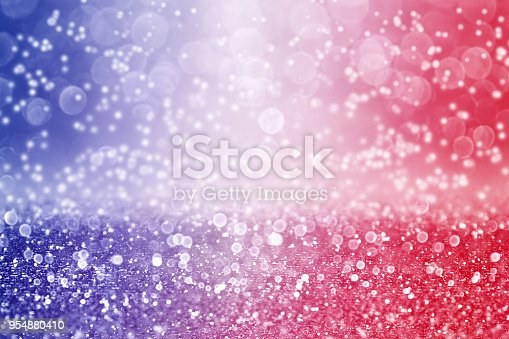 680789648 istock photo Patriotic Red White and Blue Color Background Sparkle 954880410