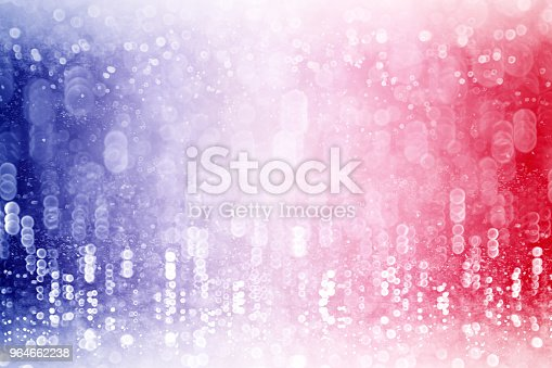 680789648 istock photo Patriotic Red White and Blue Confetti Background 964662238